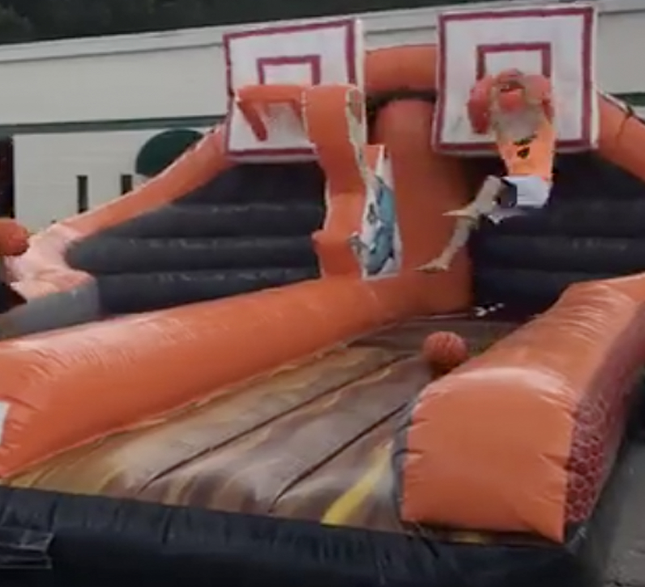 inflatable basketball rental  near me