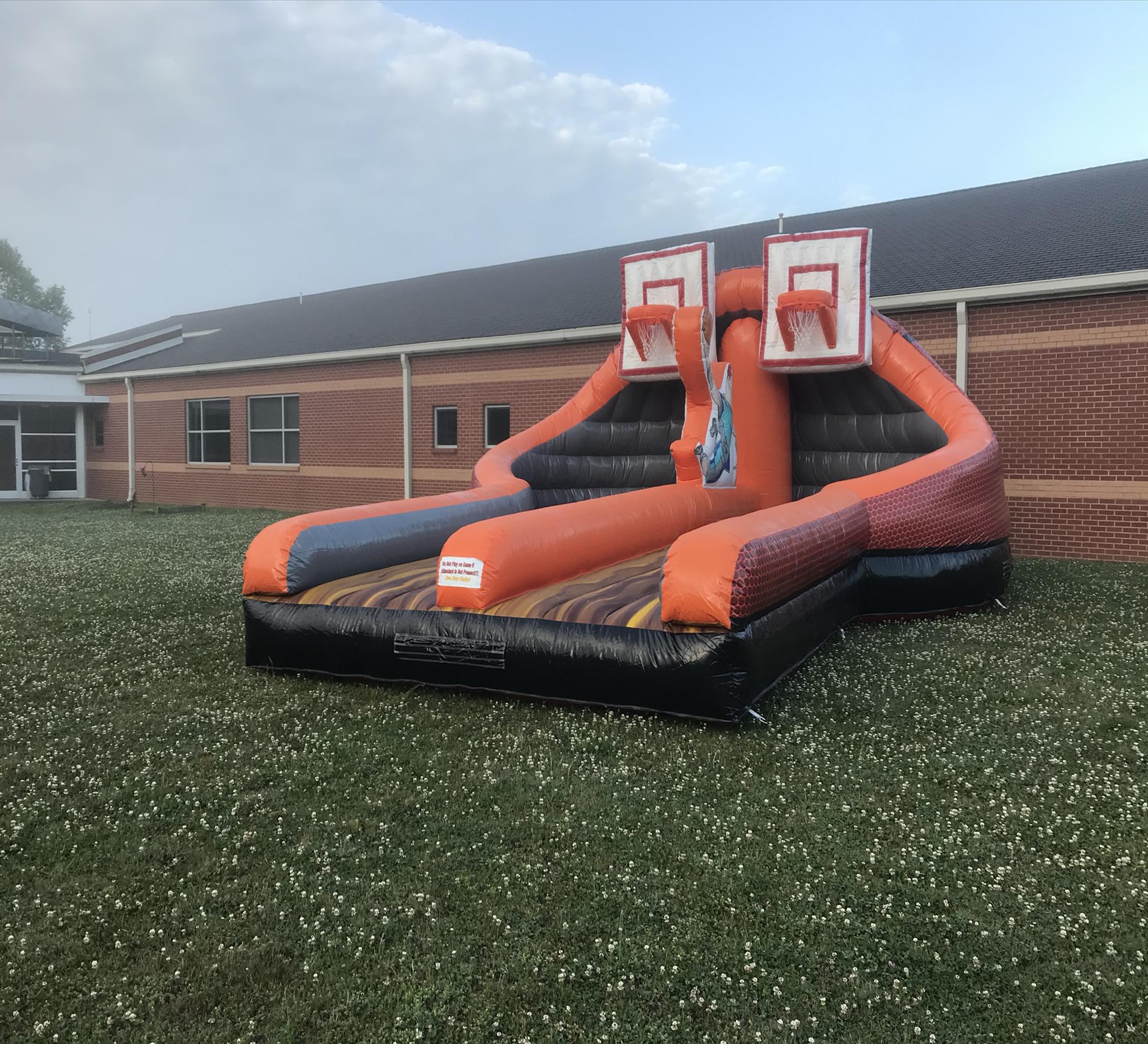 inflatable basketball rental chattanooga tn