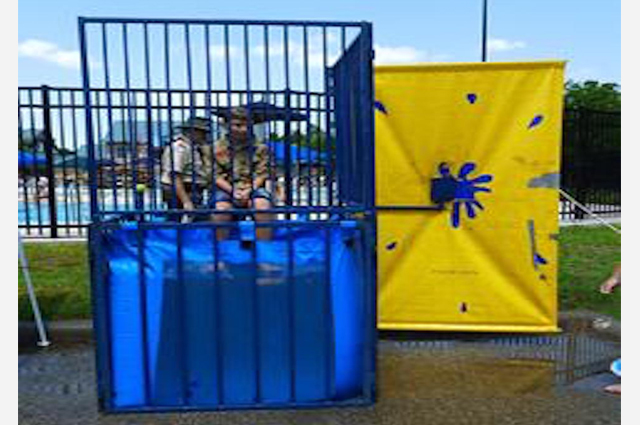 dunk tank rental Athens tn