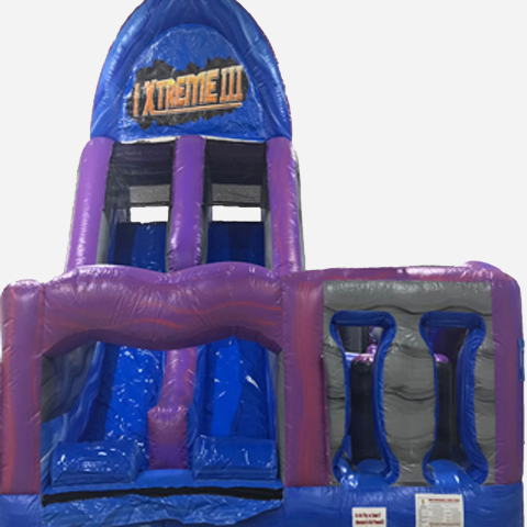 Extreme 3 Obstacle Course Rental