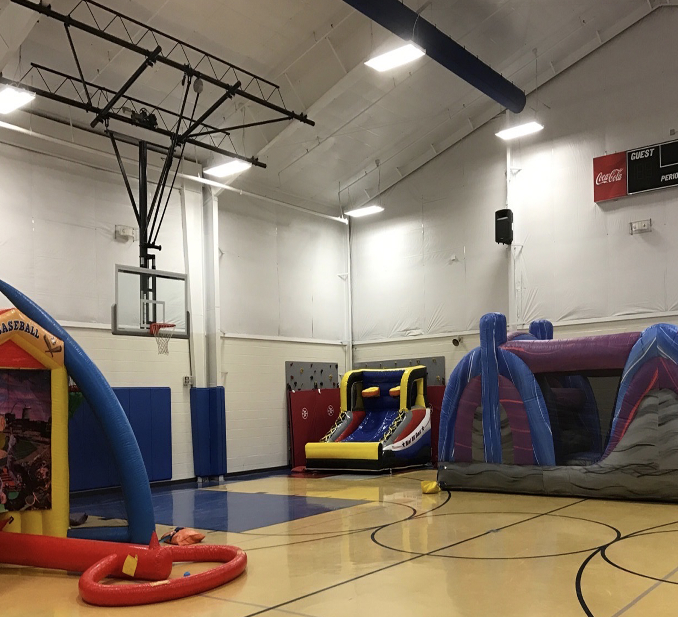 inflatable basketball game rental chattanooga