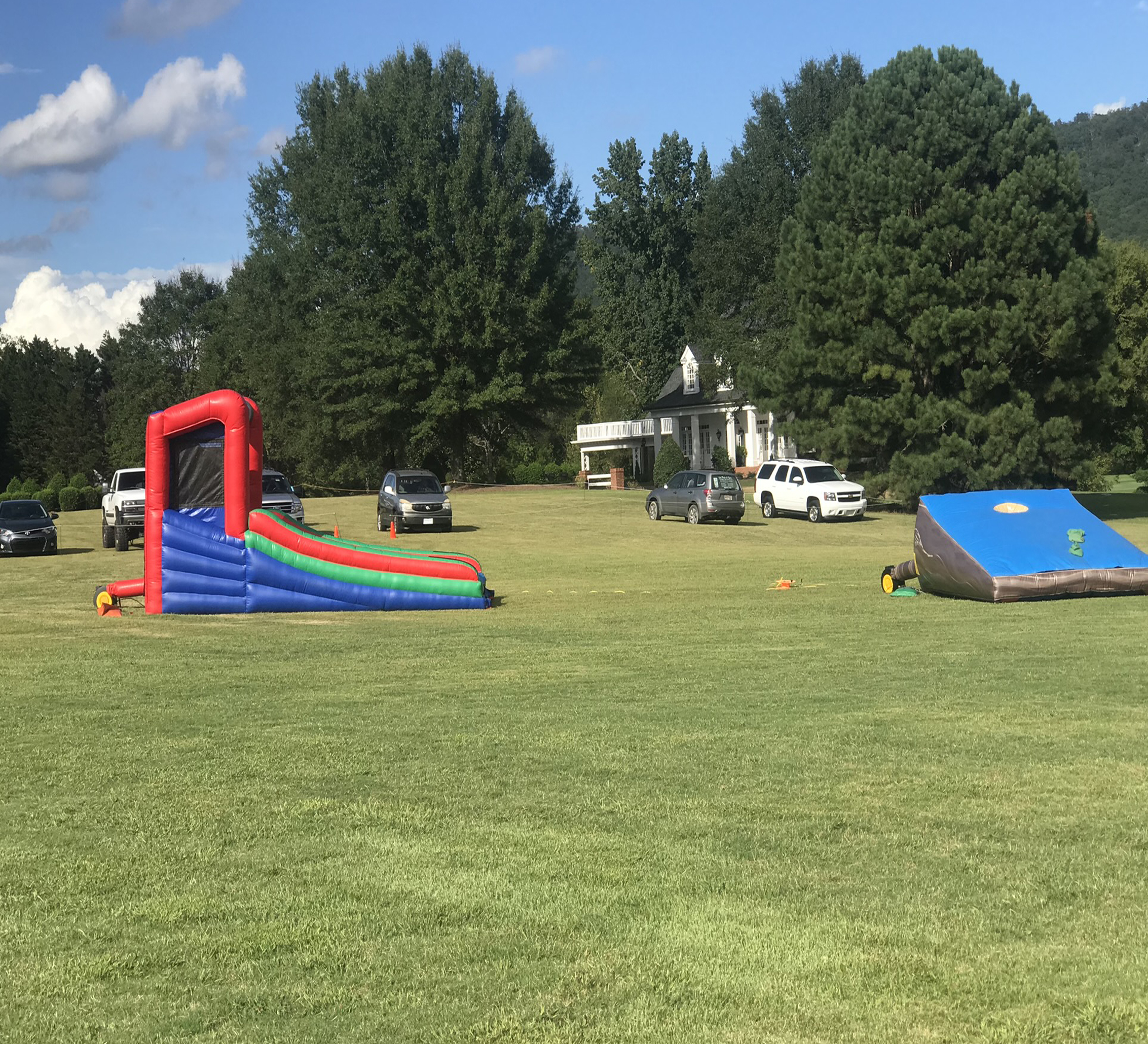inflatable corn hole rental chattanooga