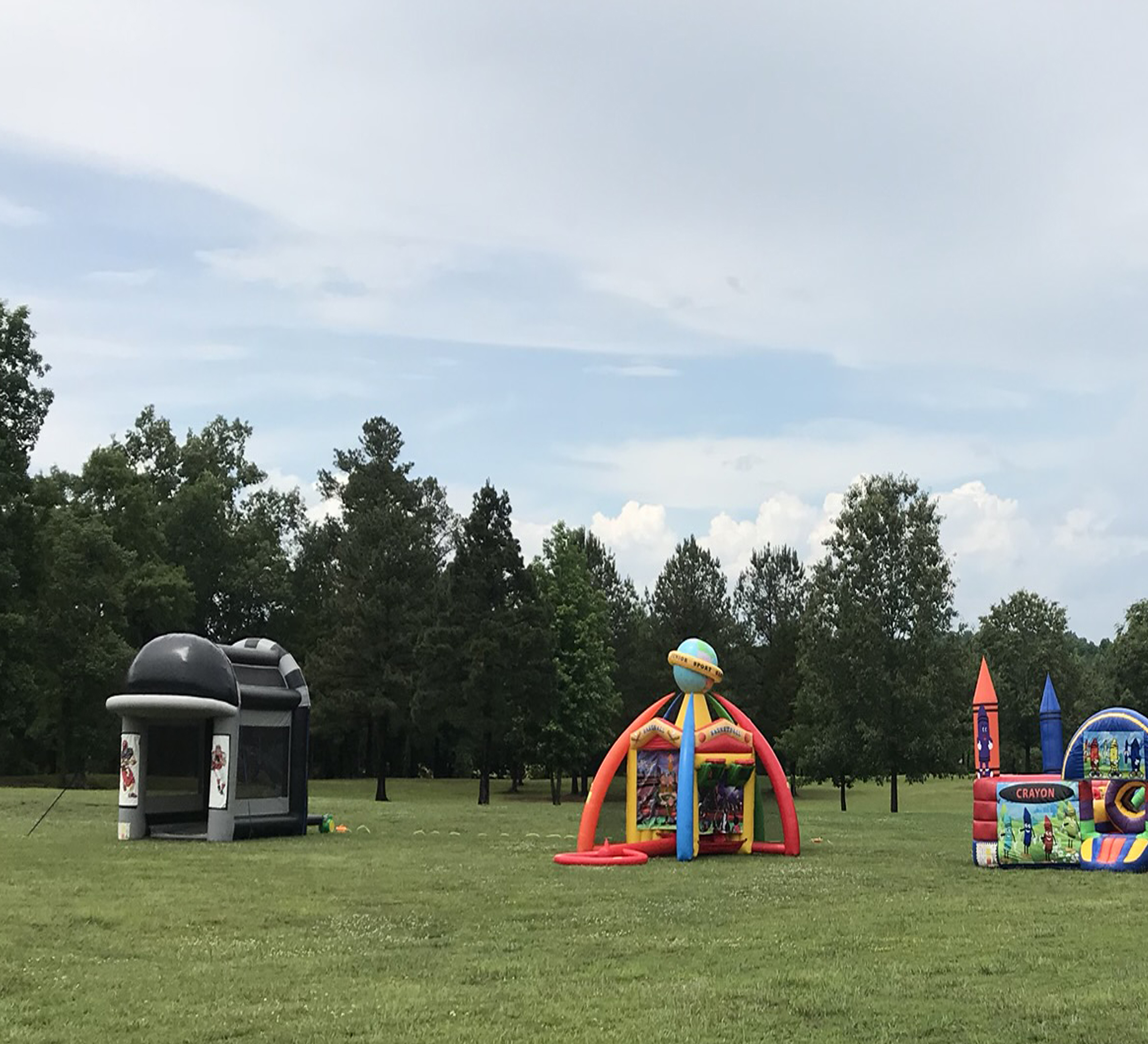 football inflatable rental near me