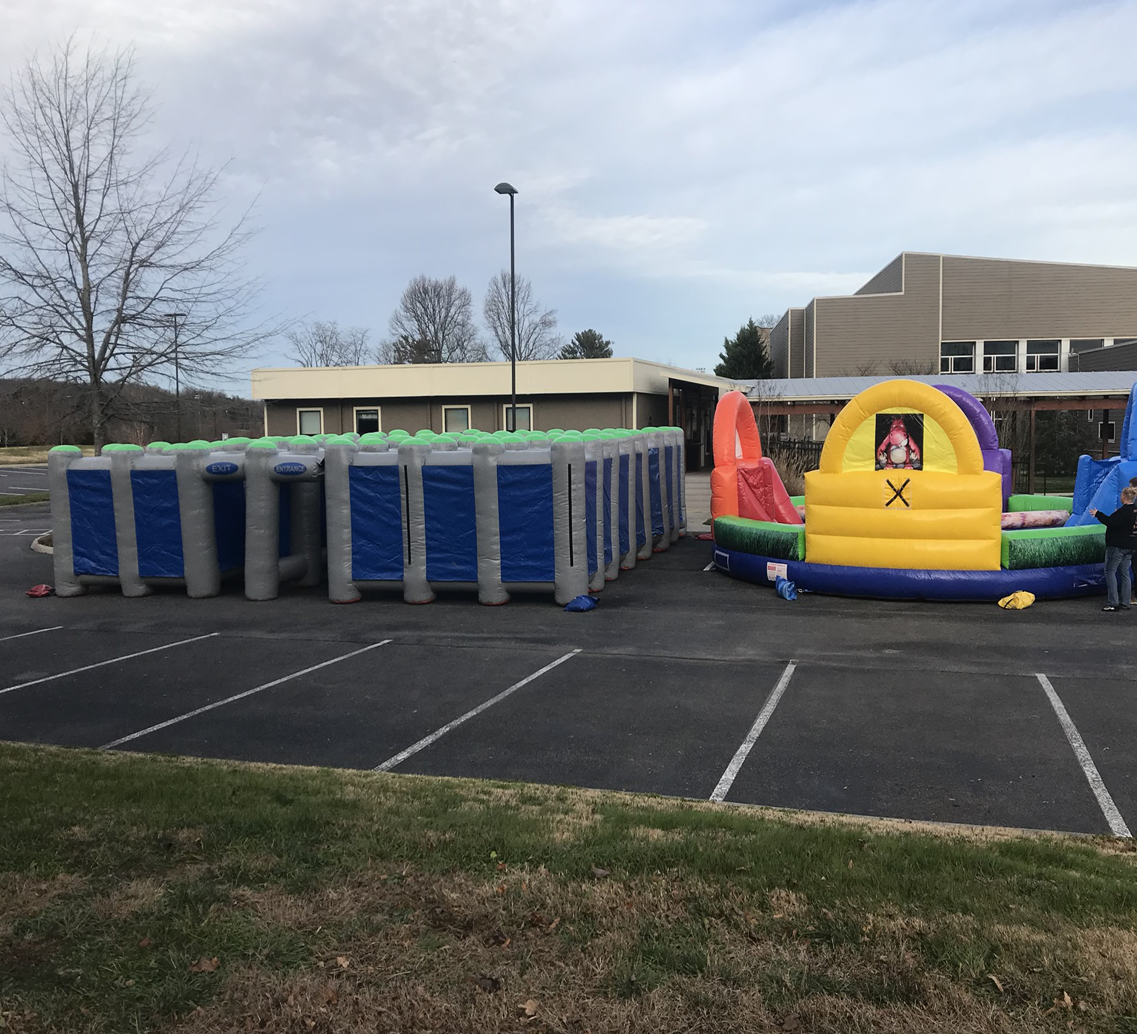 inflatable maze rental near me