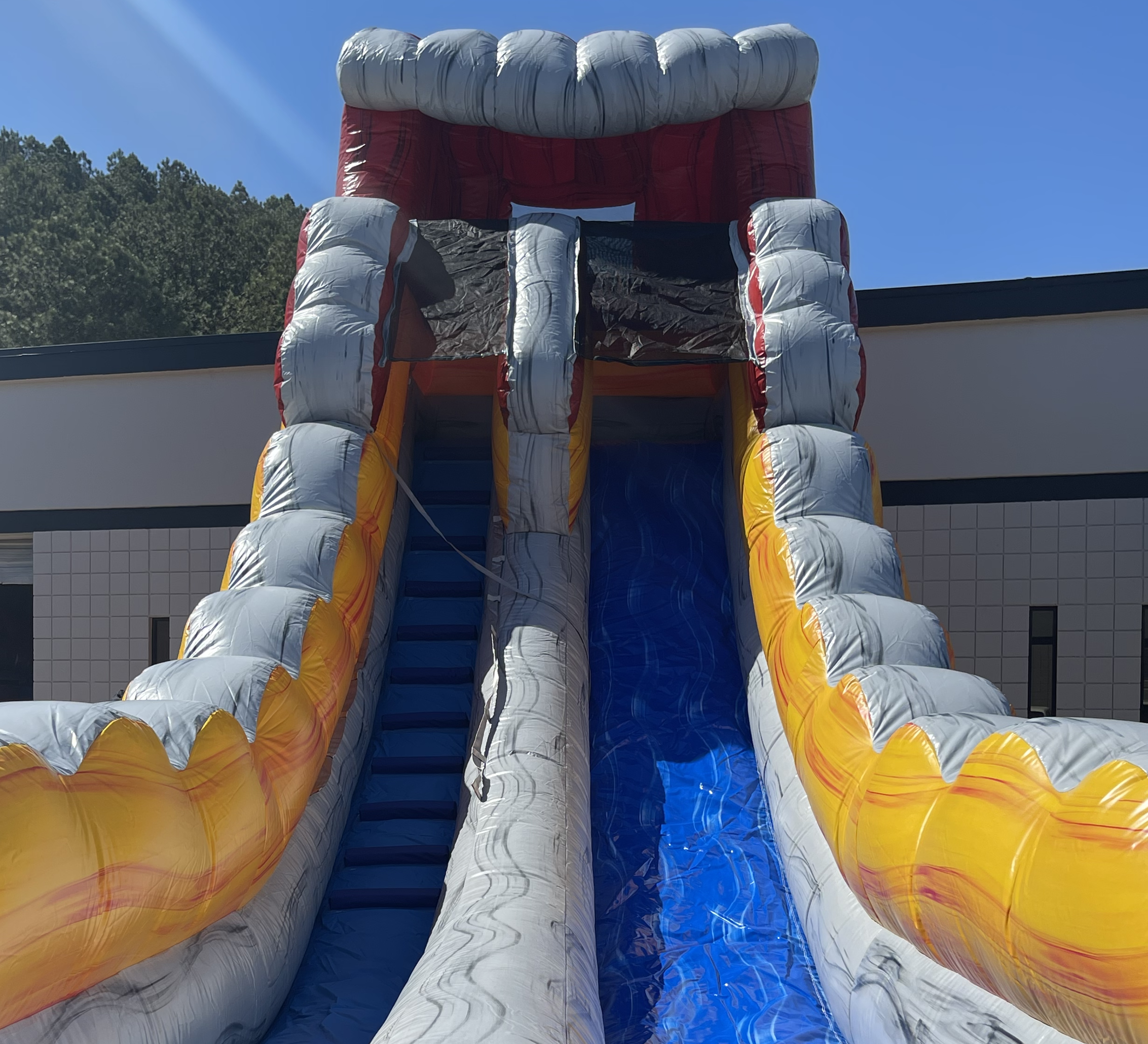Dry Water Slide Rentals Chattanooga