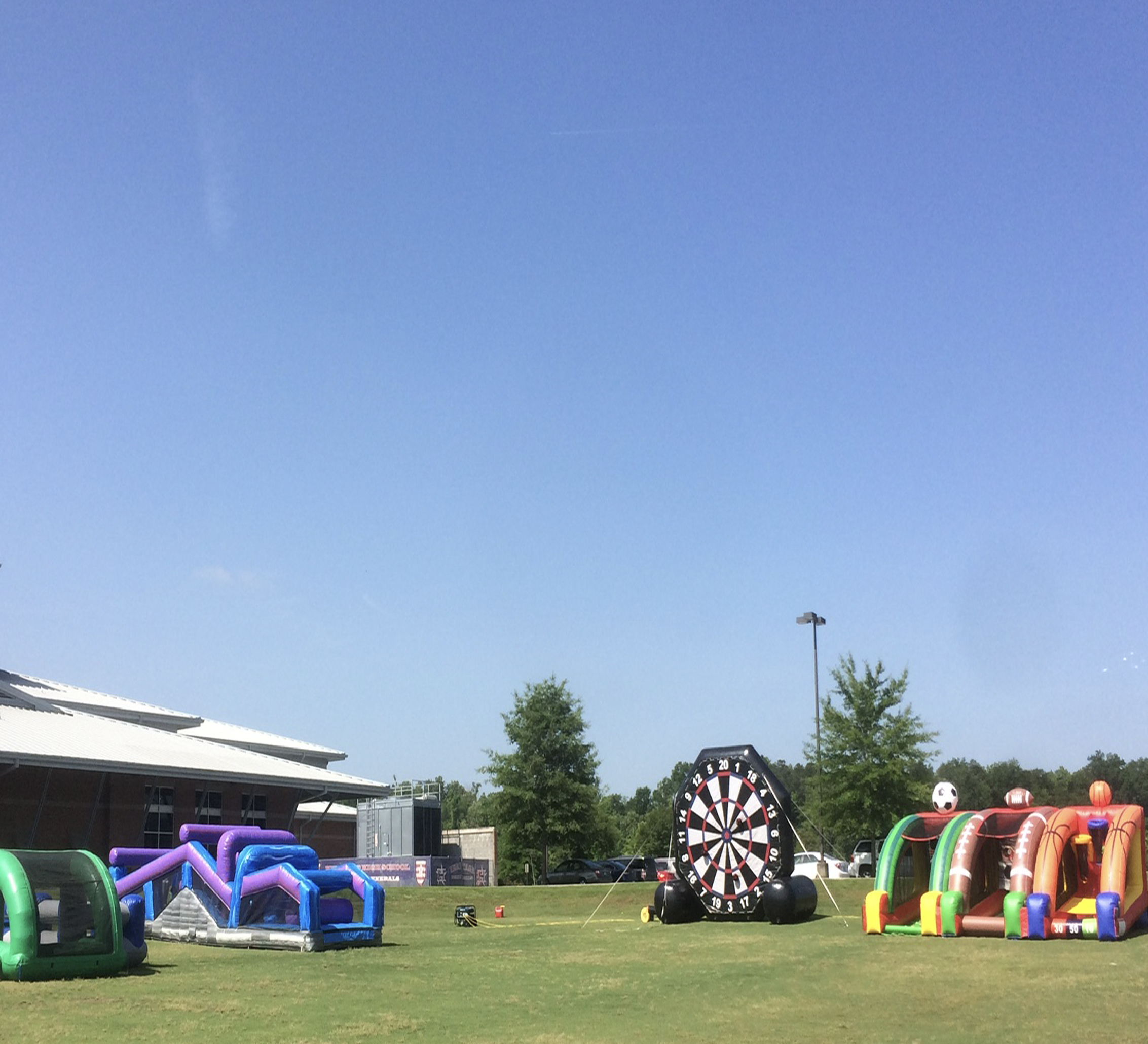 soccer darts inflatable rental