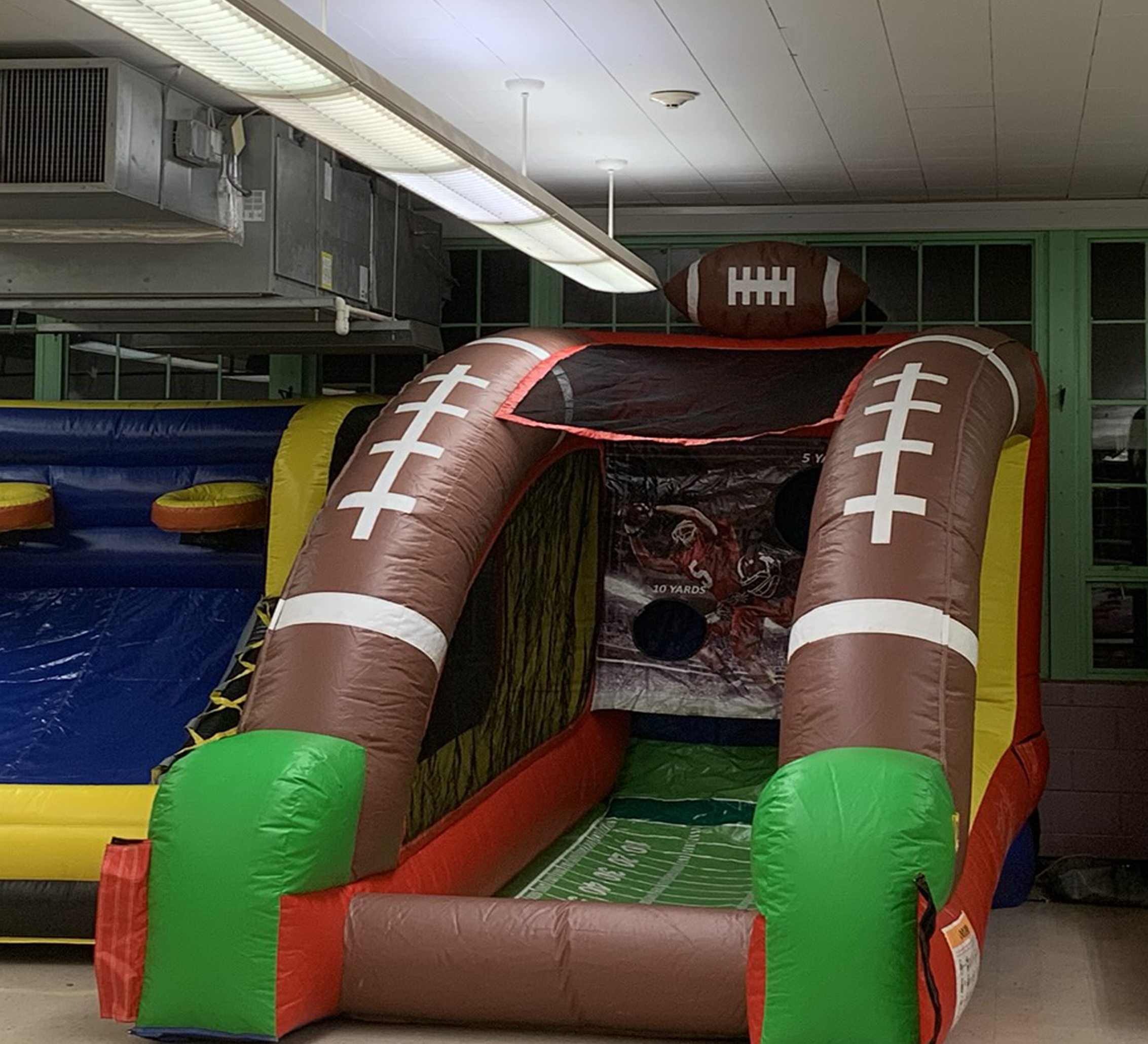 football inflatable game rental chattanooga