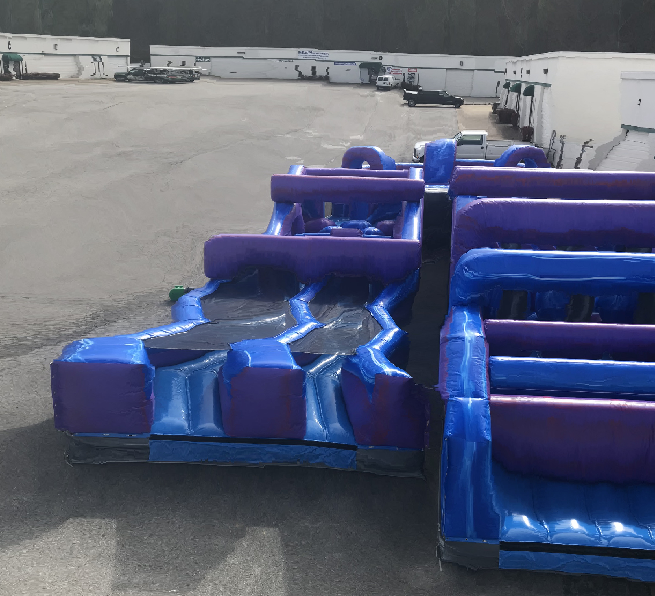 inflatable obstacle course rental chattanooga