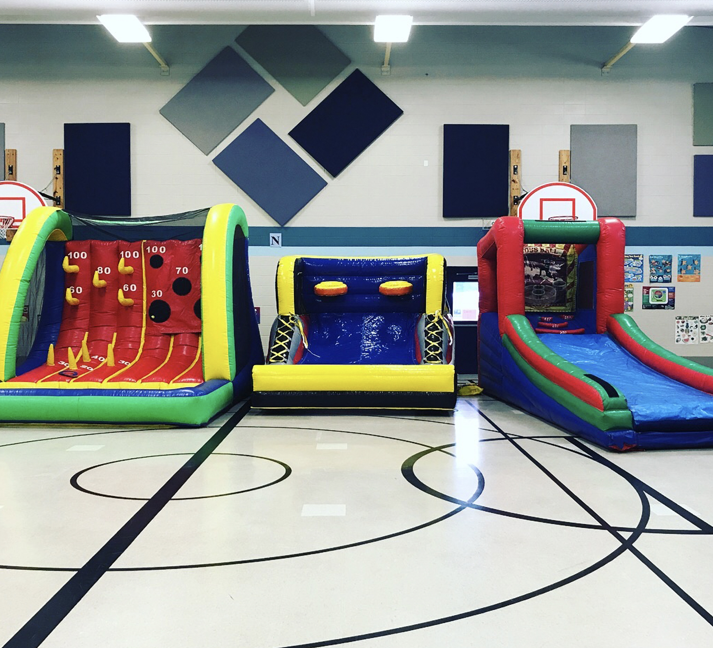 inflatable game rental chattanooga