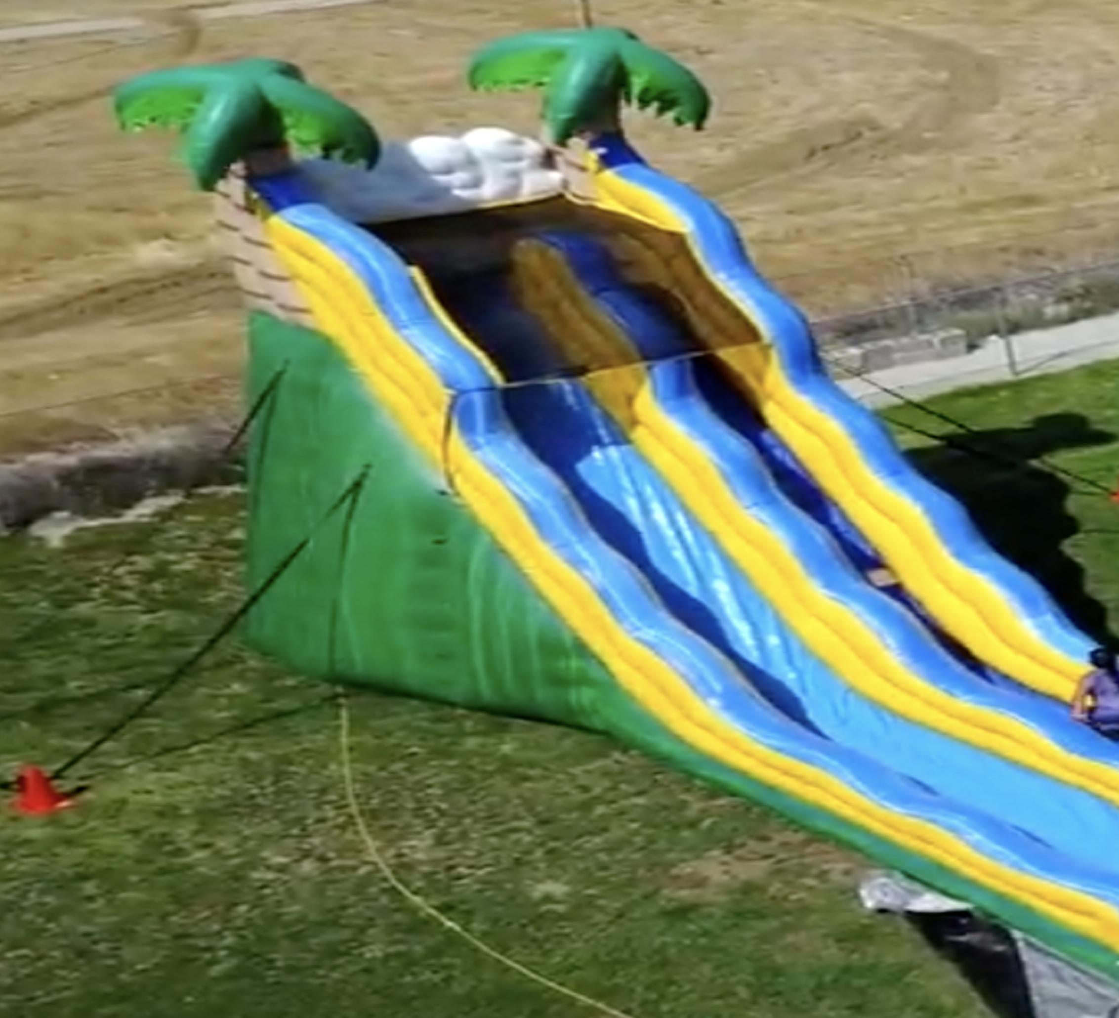 inflatable slide rental near me