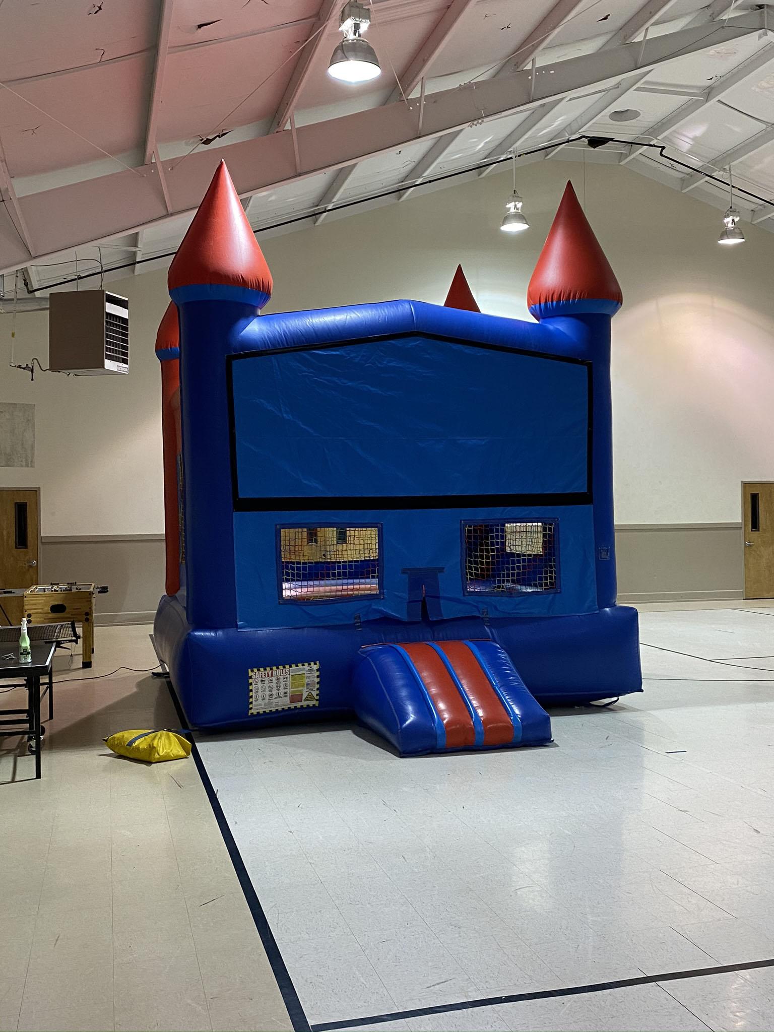 Boys Bounce house rental