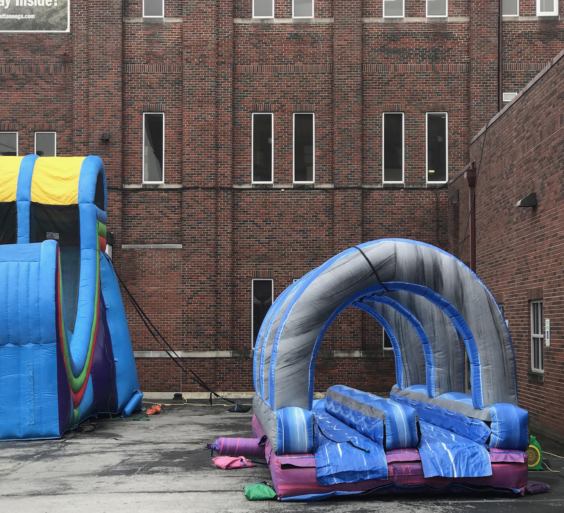 inflatable slip n slide rental near me