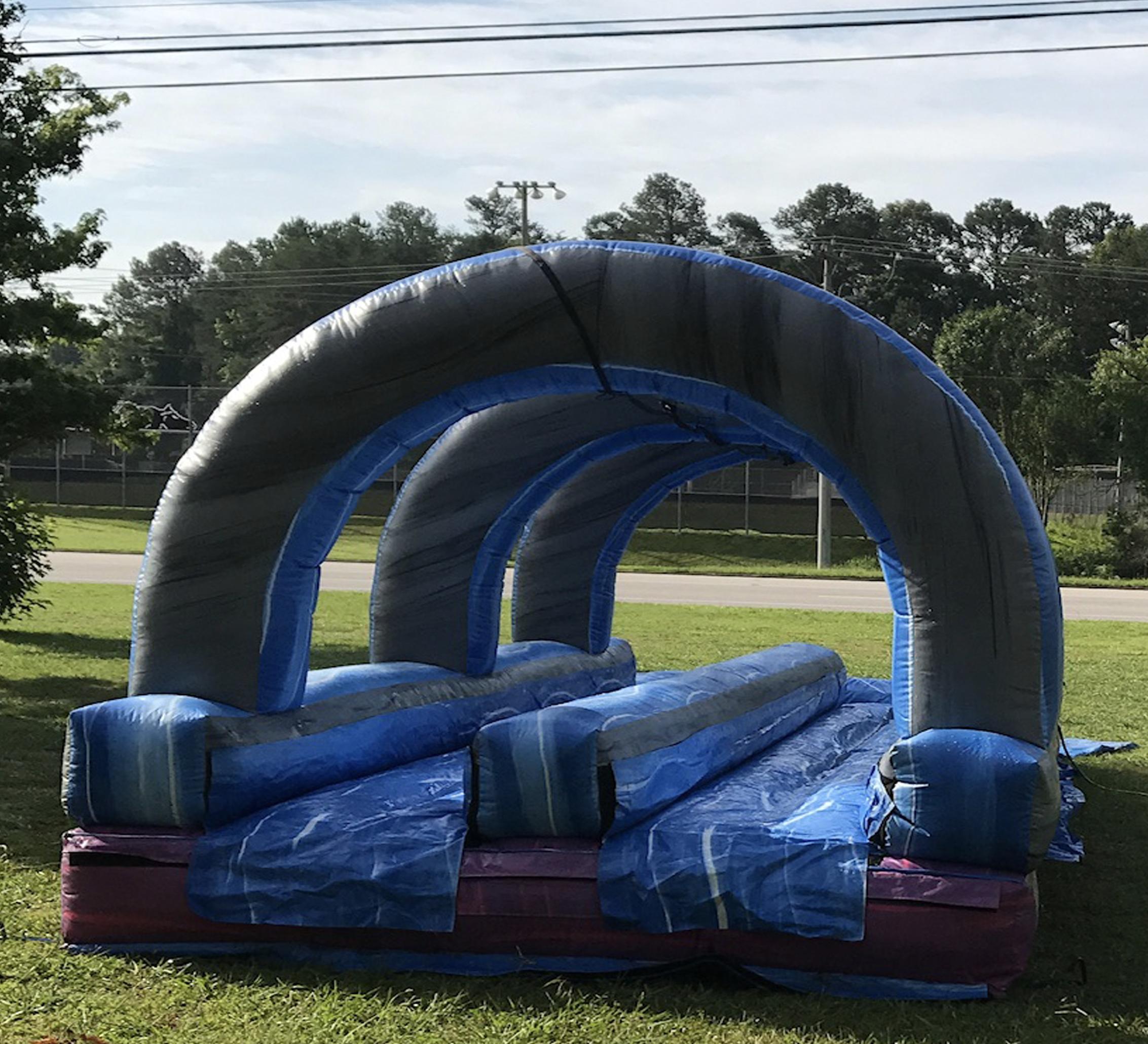 inflatable slip n slide rental
