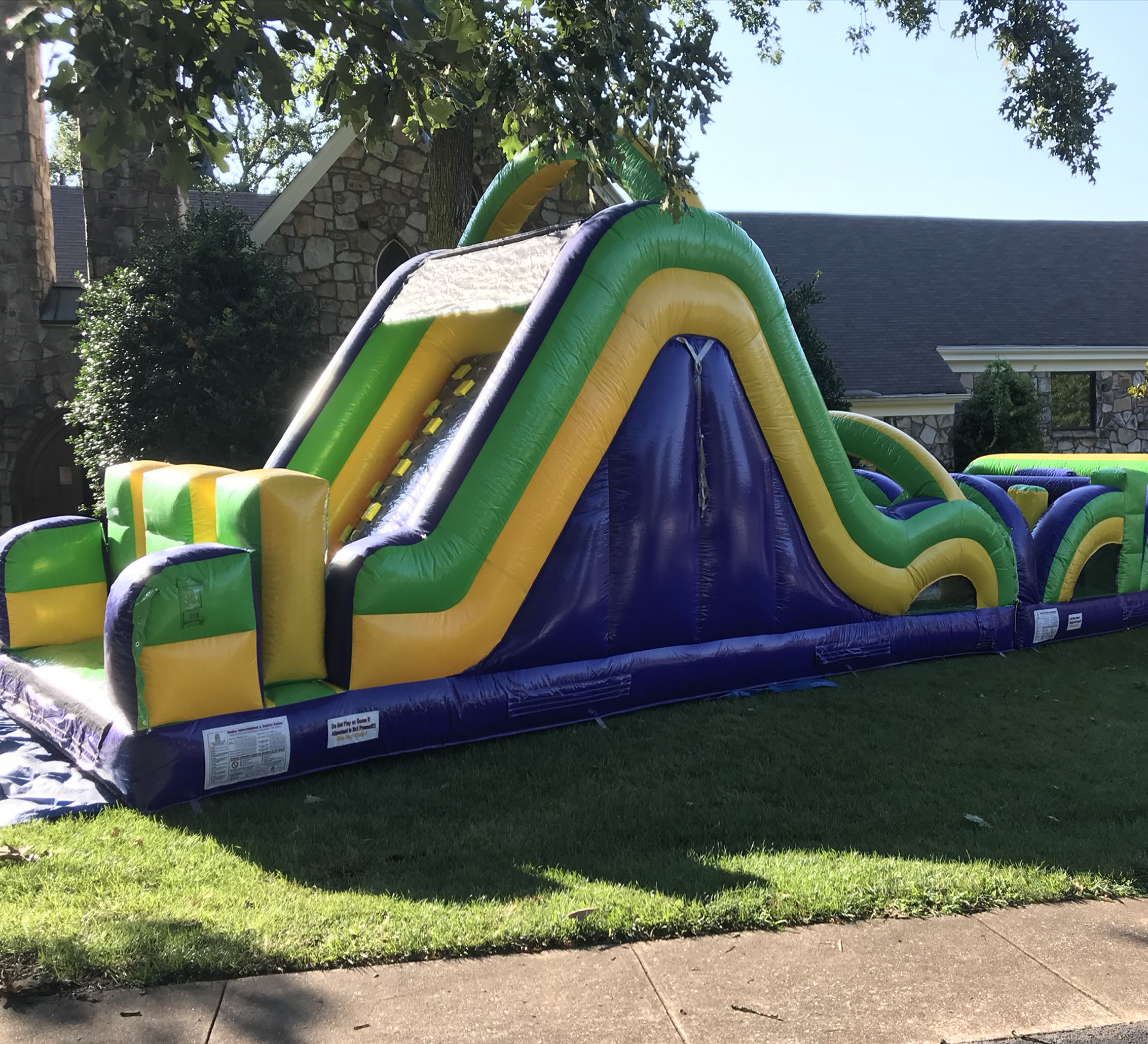obstacle course rental near me