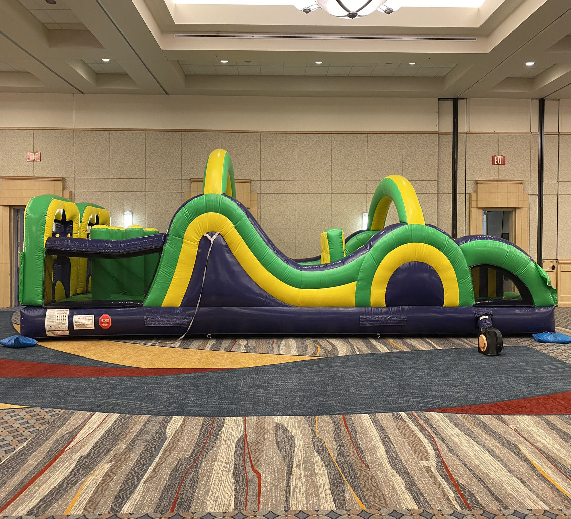 obstacle course rental Hixson TN