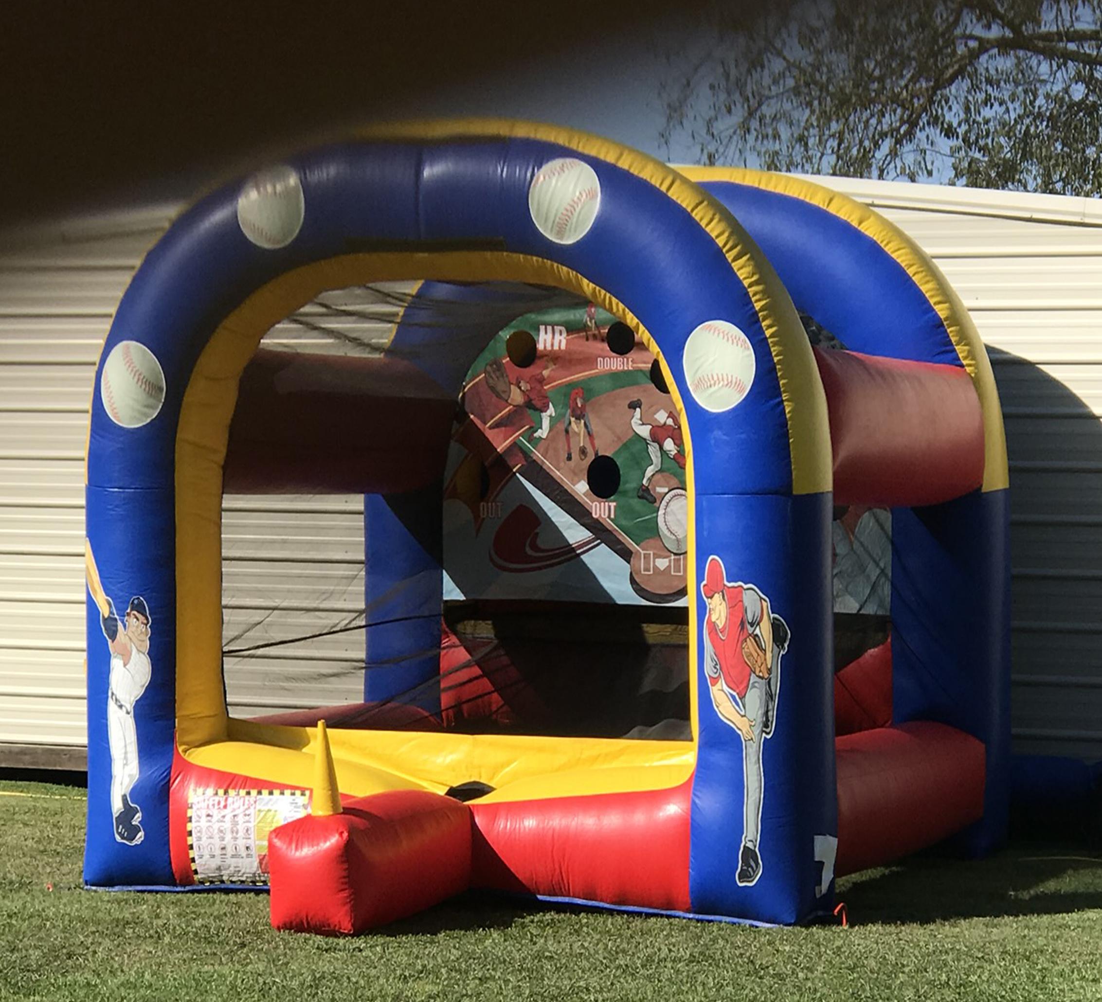 rising star baseball inflatable rental
