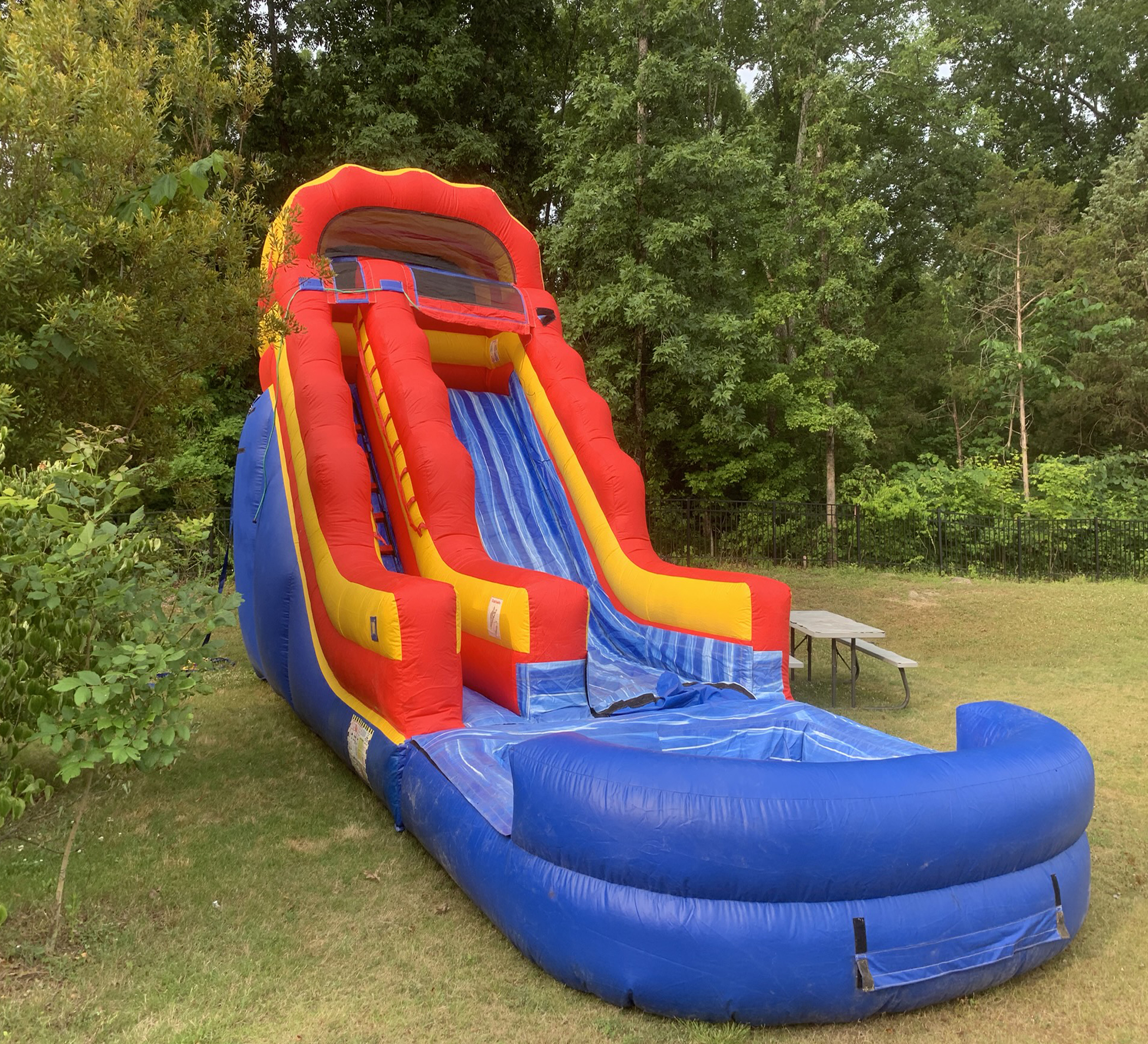 inflatable water slide rental chattanooga