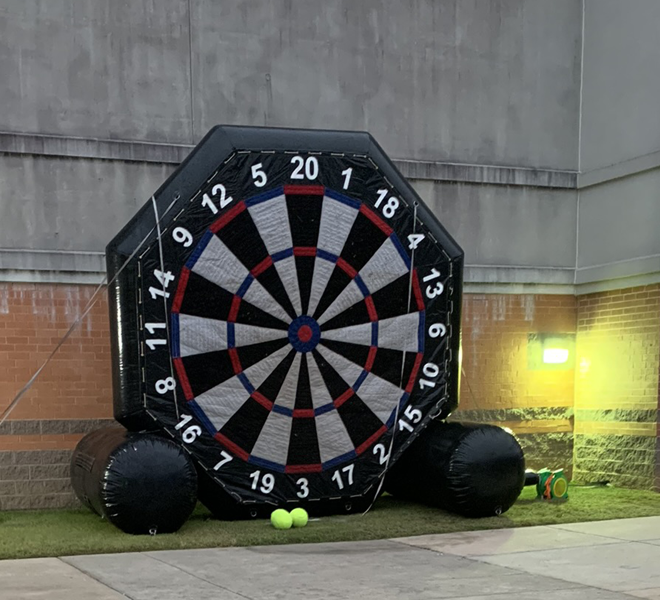 soccer darts inflatable rental chattanooga