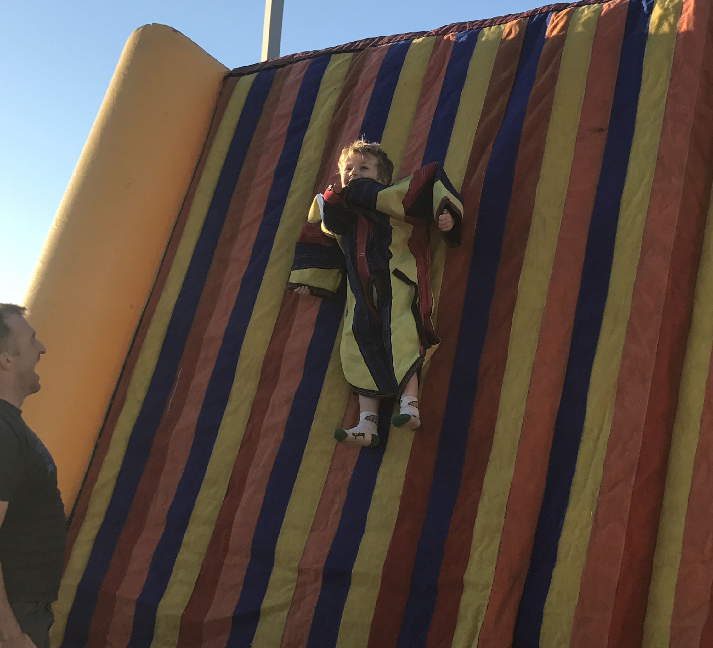 velcro wall inflatable rental near me