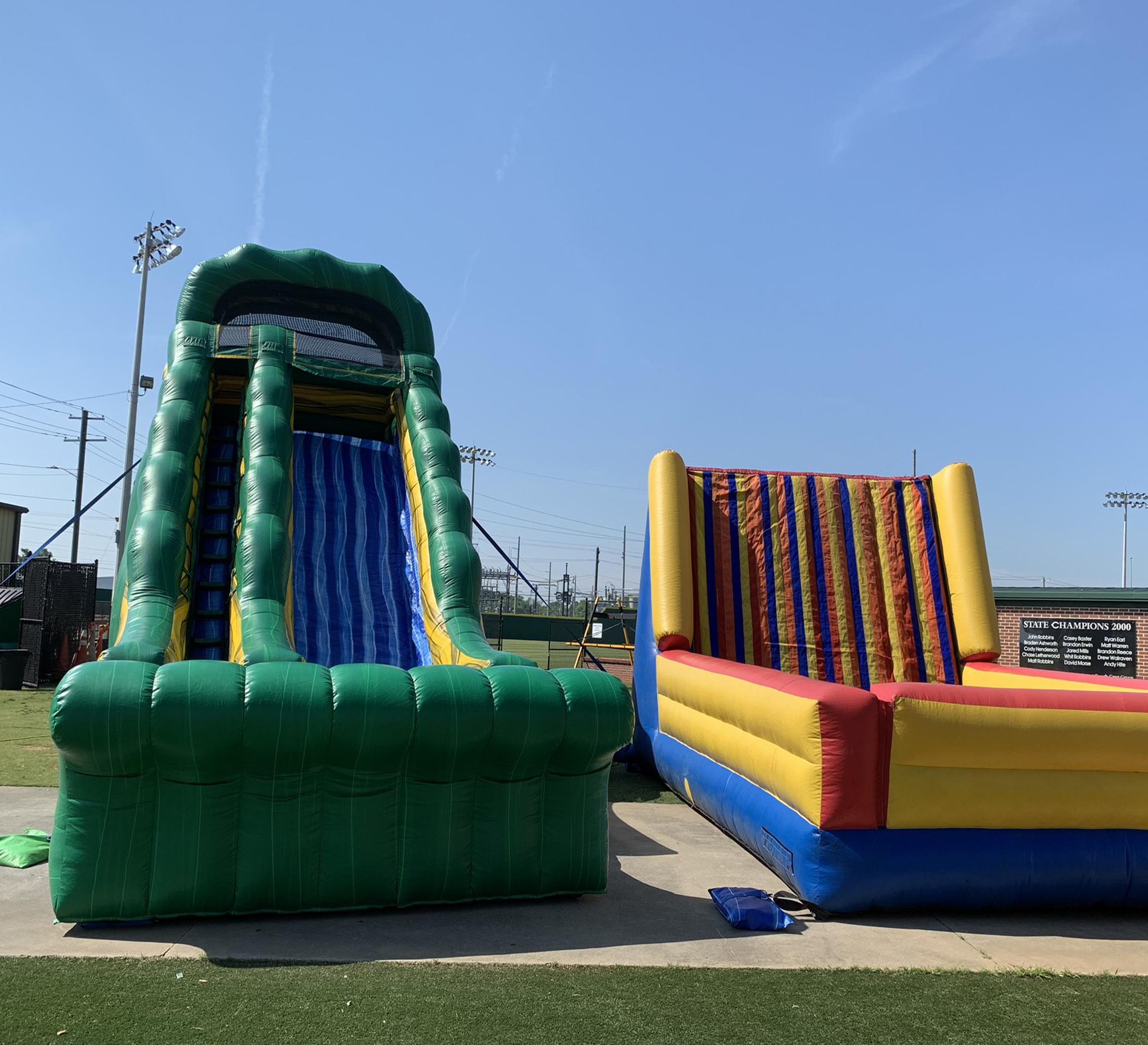 velcro wall inflatable rental chattanooga tn