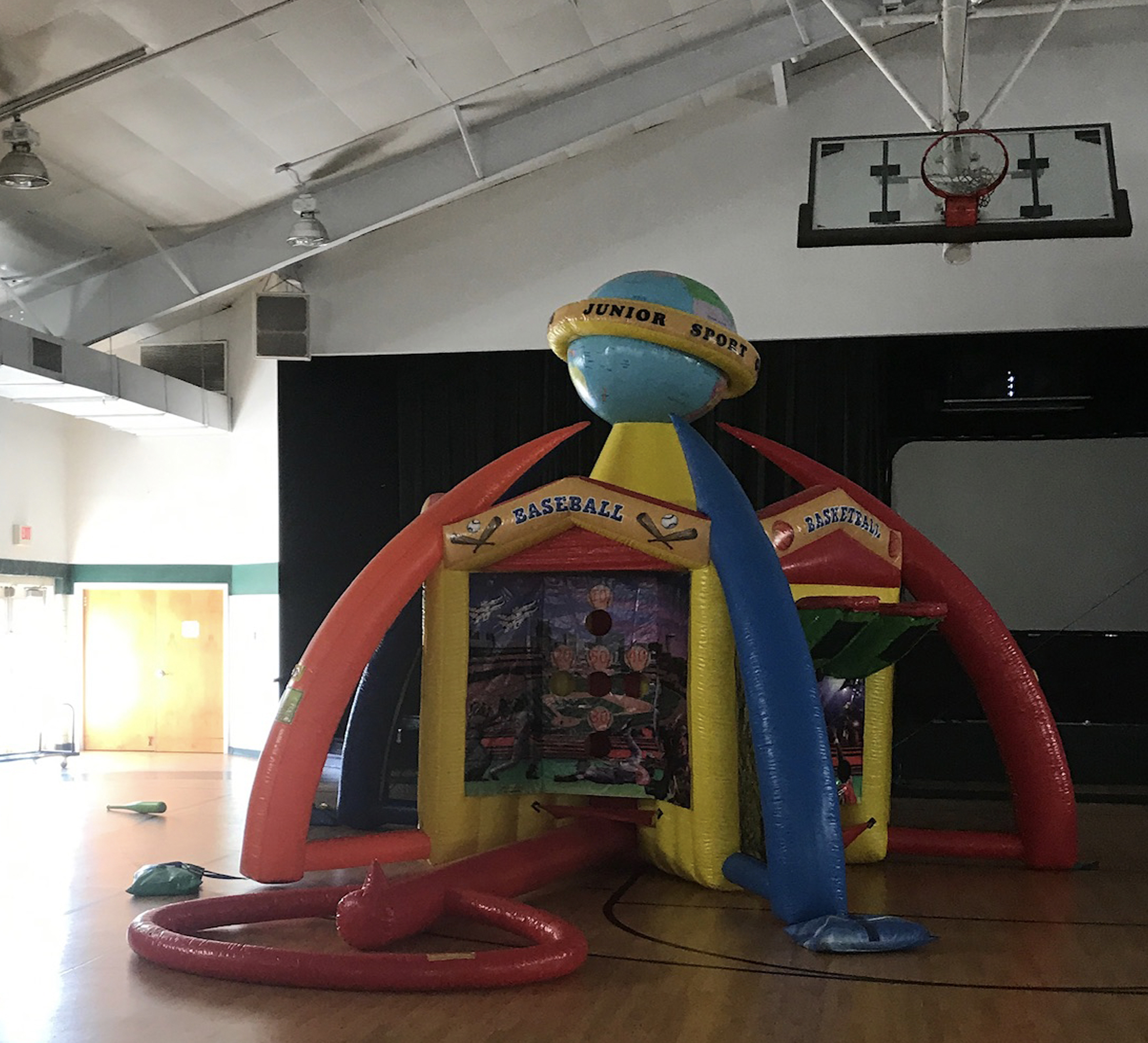 inflatable game rental near me