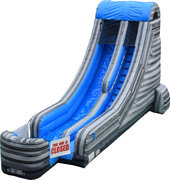 Big Blue Water Slide