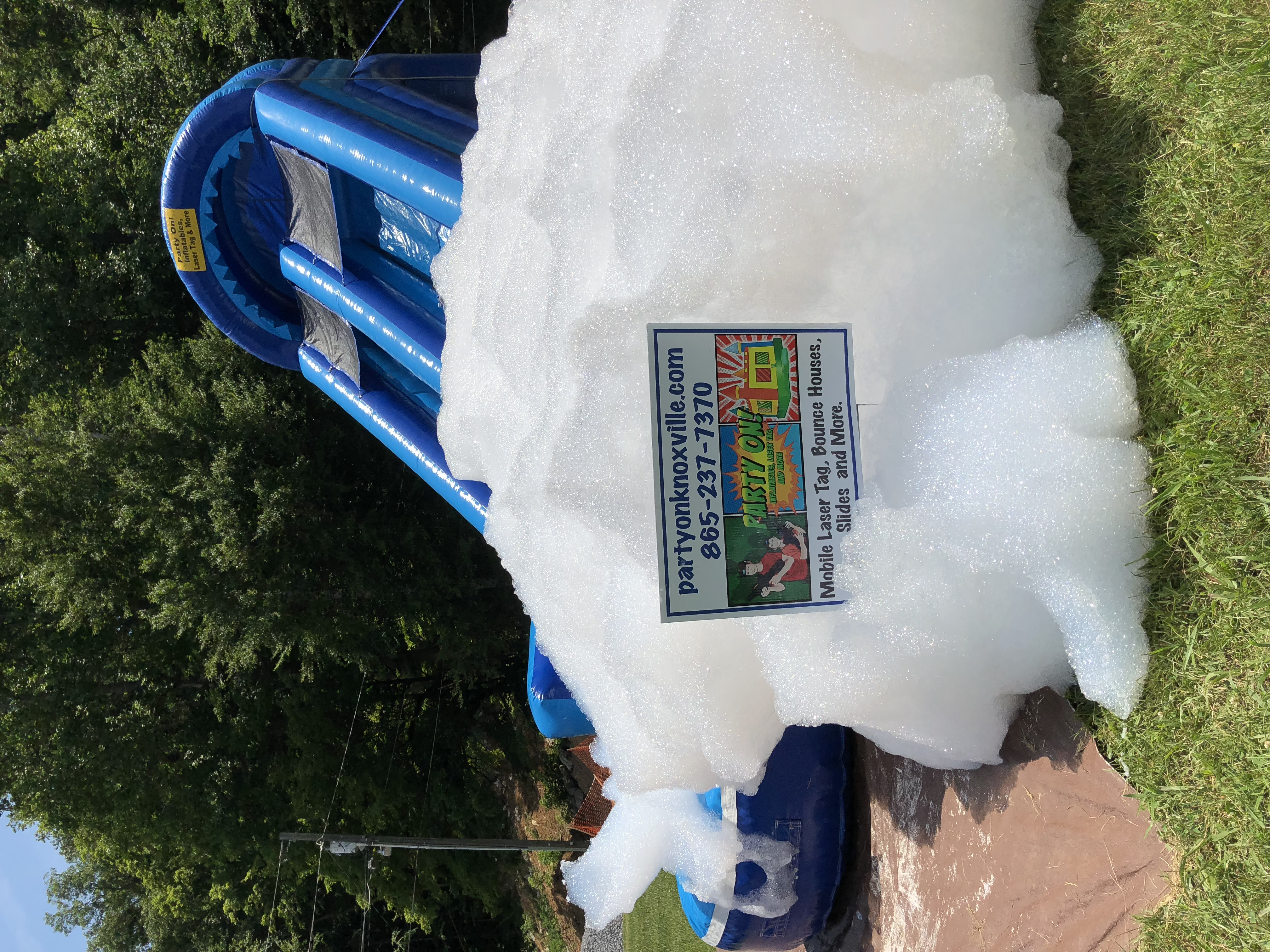 Welcome to Party On! Knoxville Inflatables, Laser Tag And More!