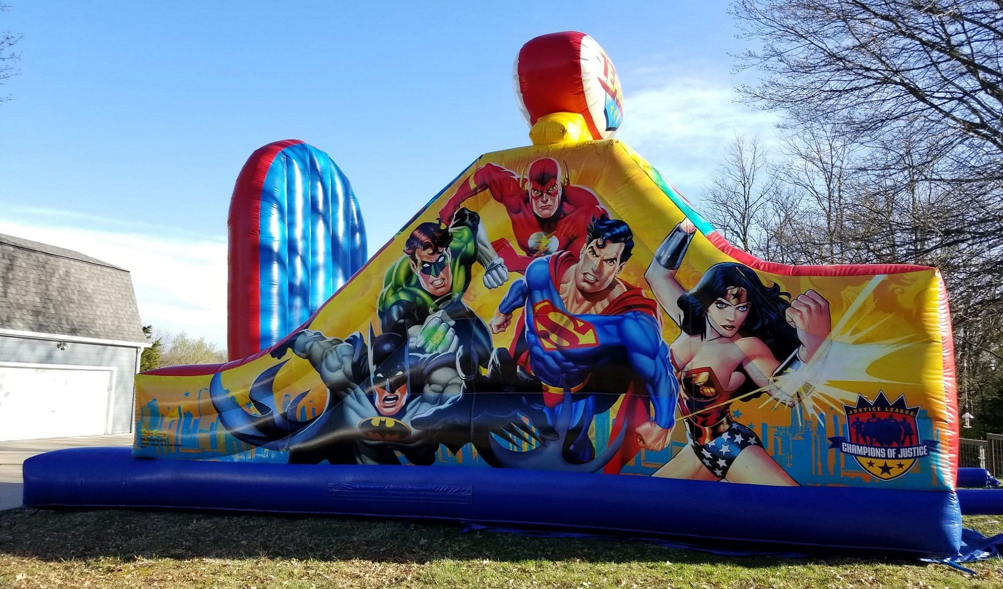 Justice League Super Hero Obstacle Course