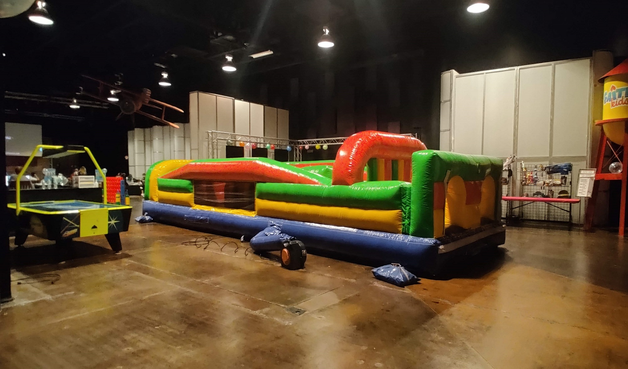 7 Elements Obstacle Course