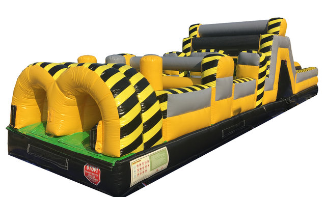 Toxic drop 40ft obstacle course