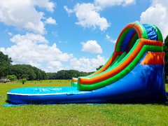 Colorful Water Slide