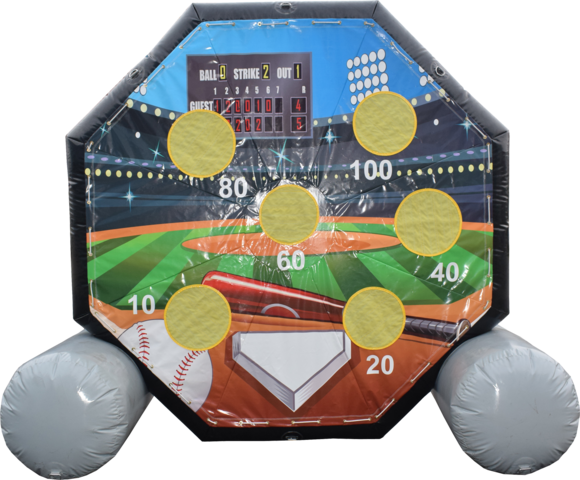 Giant Inflatable Baseball Pitch (10')