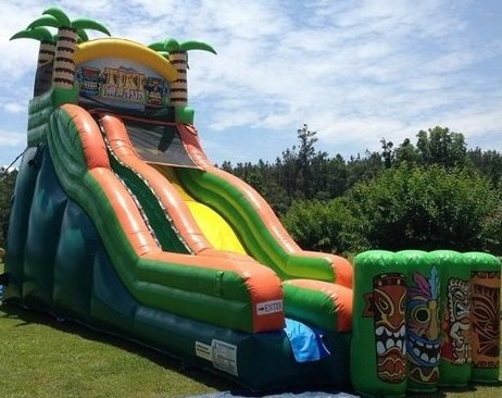 22ft Tiki Island Wet/Dry Slide