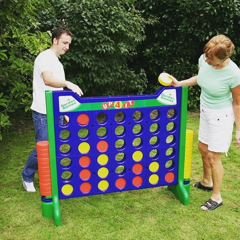 GIANT CONNECT 4 (4 Feet Tall!)
