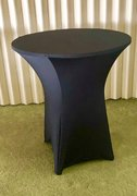 "36"" High Top Table Linen(Black Spandex)"