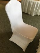 Banquet Chair Cover (White Spandex)