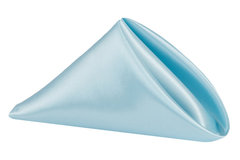 Napkin (Baby Blue Satin)