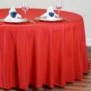 "60"" Round Table Linen (Red 120"")"