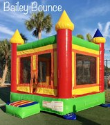 Bailey Bounce 2-in-1  w/ Basketball Hoop