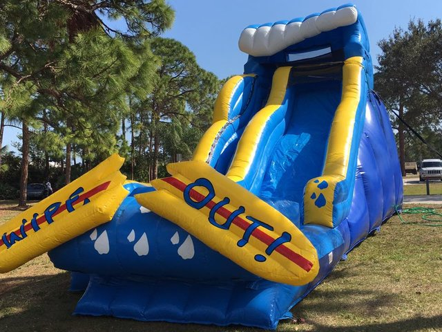 22' Wipe Out Wet/Dry Slide