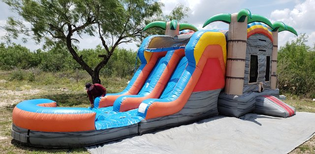 . Tropical Combo Water Slide