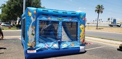 .Under the Sea 14x14 mini combo Water Slide