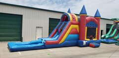.Bounce & Dip Water Slide