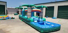 .Tropical Dual Lane Slip N Slide