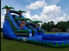 20ft Blue Crush Dry Slide