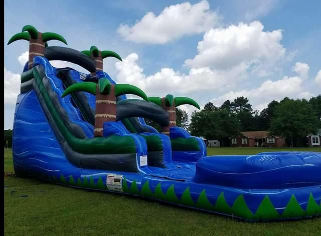 20ft Blue Crush Water Slide