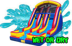 Inflatable Wet & Dry Slides