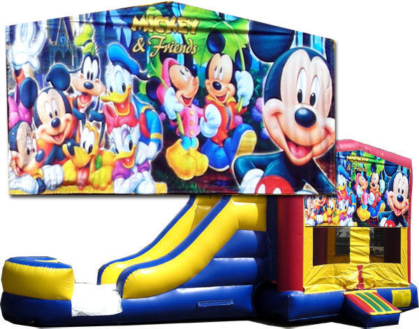 Mickey & Friends Bounce Slide Combo TX