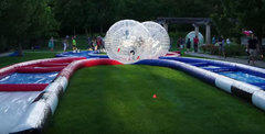 2 Zorbs Ball with Track TX