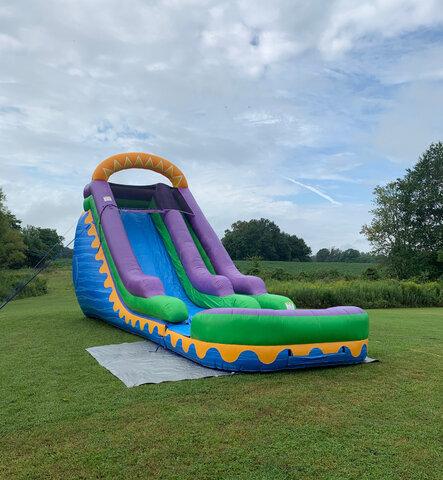 water slide rentals Clarksville TN